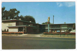 Anchor Motel Denver Colorado postcard - $3.96