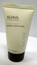 AHAVA Deadsea Water Mineral BODY LOTION - Travel Size (1.3 oz) BRAND NEW - $10.77