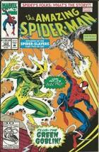 Amazing Spiderman #369 ORIGINAL Vintage 1992 Marvel Comics Electro - $19.79
