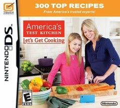 America's Test Kitchen: Let's Get Cooking (Nintendo DS, 2010) Brand New ... - $5.94