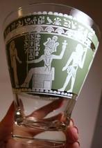 Vintage Hazel Atlas Glass Bowl Egyptian Revival Wedgwood Vase Barware Co... - $23.36