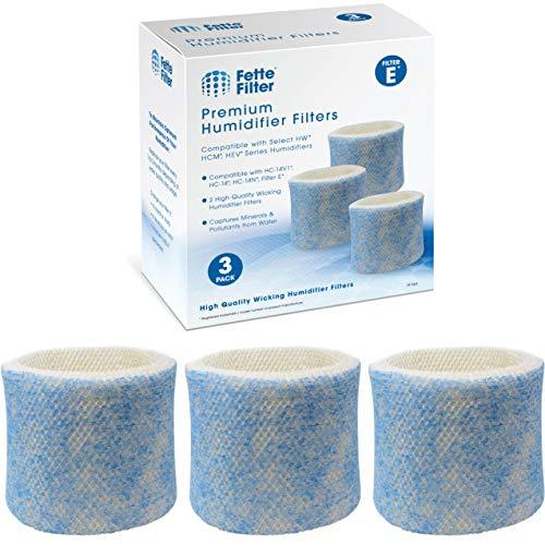 Fette Filter - Blue Mesh Humidifier Wicking Filters Compatible with Honeywell HC