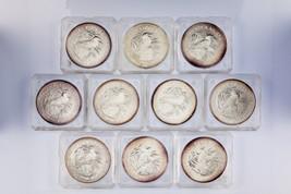 Lot of 10 1990 Australia $5 Silver 1oz Kookaburras (BU Condition) KM# 189 - $693.00
