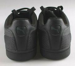 PUMA Men's Smash Knit C Black Casual Athletic Sneakers Gym Shoes image 4