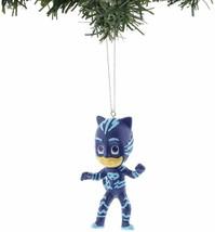 Set of 2 Kurt S. Adler PJ Mask Owlette Catboy Christmas Tree Blow Mold Ornaments image 2