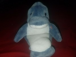 b9b40e08a6d New Ty Beanie Baby 1996 Echo The Dolphin Retired Plush Toy MWMT - FREE  Shipping -