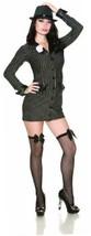 Delicious Allie Capone Costume, Black/White, Large - £17.81 GBP