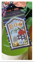Halloween Pumpkin Tag Kit cross stitch kit by Shepherd's Bush     - $8.00