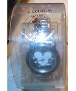 Lorus/ Jaz Mickey Mouse Logo Wristwatch NOS Needs New Battery (Not Inclu... - £9.54 GBP