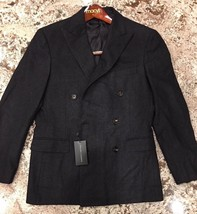 $1895.00 Ralph Lauren Black Label DB Nigel Coat  Italy Size  40 R - $890.01