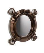 Pirate Prop Porthole Mirror Statue Resin Nautical Decor - $224.90