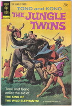 The Jungle Twins Comic Book #9 Gold Key 1974 VERY FINE- - $5.71