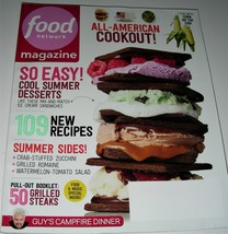 FOOD NETWORK MAGAZINE July August 2014 Like New! - $5.99