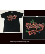 NAUGHTY AND PROUD OF IT Christmas T-Shirt NWT SZ M - $8.99
