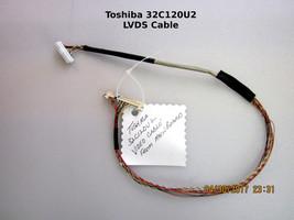 Toshiba 32C120U2 32C110U 32DT2U LCD LVDS Cable 75023524  [See List] - $13.98
