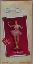 Hallmark I love Lucy The Ballet Ornament 2004 Anita Marra Rogers Memory ... - $11.88