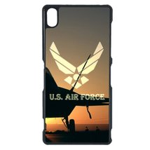 Air Force Sony M5 case Customized premium plastic phone case, design #7 - $11.87
