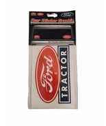 New Ford Tractor Rear Window Graphix Sticker Decal (2 Pieces) - $13.99
