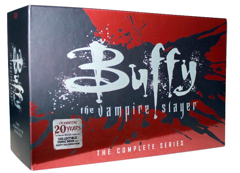 Buffy The Vampire Slayer Complete Series Seasons 1-7 39 DVD Box Set Free Ship