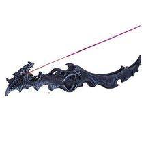 Dark Finish Dragon Sleeping Statue Incense Burner - $16.83