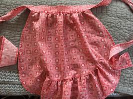 Childs christmas apron - $12.00