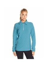 Columbia glacial fleece 3 print half zip blue Sz large - $39.98