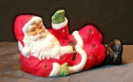 Santa Candle Holder AA20-2123 Vintage image 5
