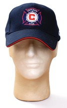 Puma Navy Blue MLS Chicago Fire Snapback Cap Hat Adult One Size  NWT - $25.98