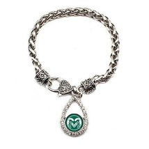Inspired Silver Colorado State University Rams Logo Charm Silver Plated ... - $29.35