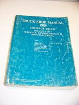 1989 Ford Aerostar Ranger Bronco Ii Compact Truck Body / Electrical Shop Manual - $17.99