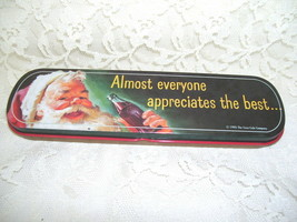 1995 Coca Cola Santa Claus Tin Box - $16.82