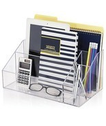 Mail Organizer For Desk Office Home Sorter Premium Quality Plastic Craft... - £30.15 GBP