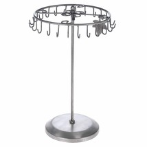 TableTop Rotating Necklace Holder Bracelet Tree Stand Jewelry Organizer ... - $31.90