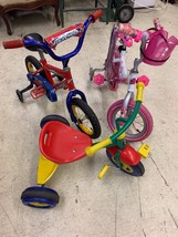 Childrens Bicycles and Kiddi-O Tricycle (Barbie and Rallye Launcher) - $29.70