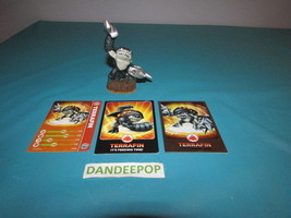 Skylanders Figure Series 2 Terrafin E3120A W/ Cards  Activision video Game - $7.67