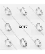 KPOP GOT7 Never Ever Ring Titanium Steel JB Jackson Mark Bambam JR Finge... - $0.99