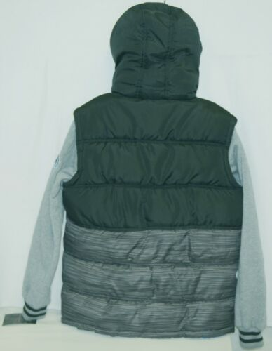 Weatherproof OBZCE0P Boys Jacket Black Blue Gray Size XLarge