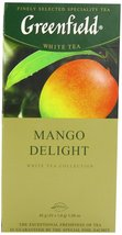 Greenfield Tea, Mango Delight, 25 Count (Pack of 10) - $66.52