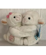 Fiesta SOFT HUGGING Inspiration Messages Jesus Loves Me PLUSH LAMBS BABY... - $14.84