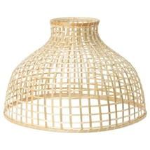 "IKEA GOTTORP Pendant lamp shade, BAMBOO, 22x15 "" - $52.46"