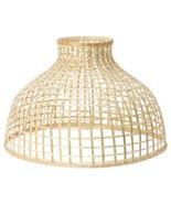 "IKEA GOTTORP Pendant lamp shade, BAMBOO, 22x15 "" - $44.59"