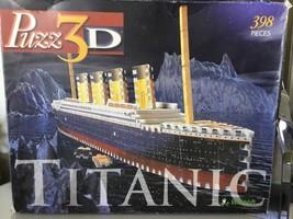 Puzz3D Puzzle by Wrebbit    H.M.S. Titanic   398 pieces AA - $29.69