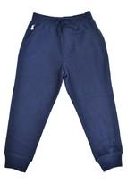 Polo Ralph Lauren Kids Navy Blue Pink Jogger Sweatpants Sz Small S (7) 9929-1 - $31.97