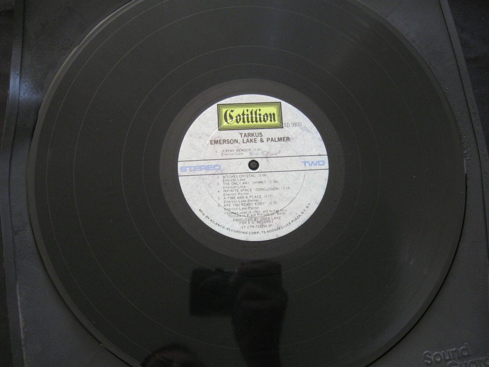 Emerson Lake & Palmer ELP Tarkus Cotillion SD 9900 Stereo Vinyl LP Record Album image 7