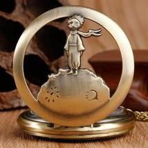 The Little Prince Bronze Vintage Quartz Pocket Watch  - $11.85 CAD