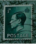Nice Vintage Used Postage  1/2  D Stamp, GDC - NICE COLLECTIBLE POSTAGE ... - $2.96