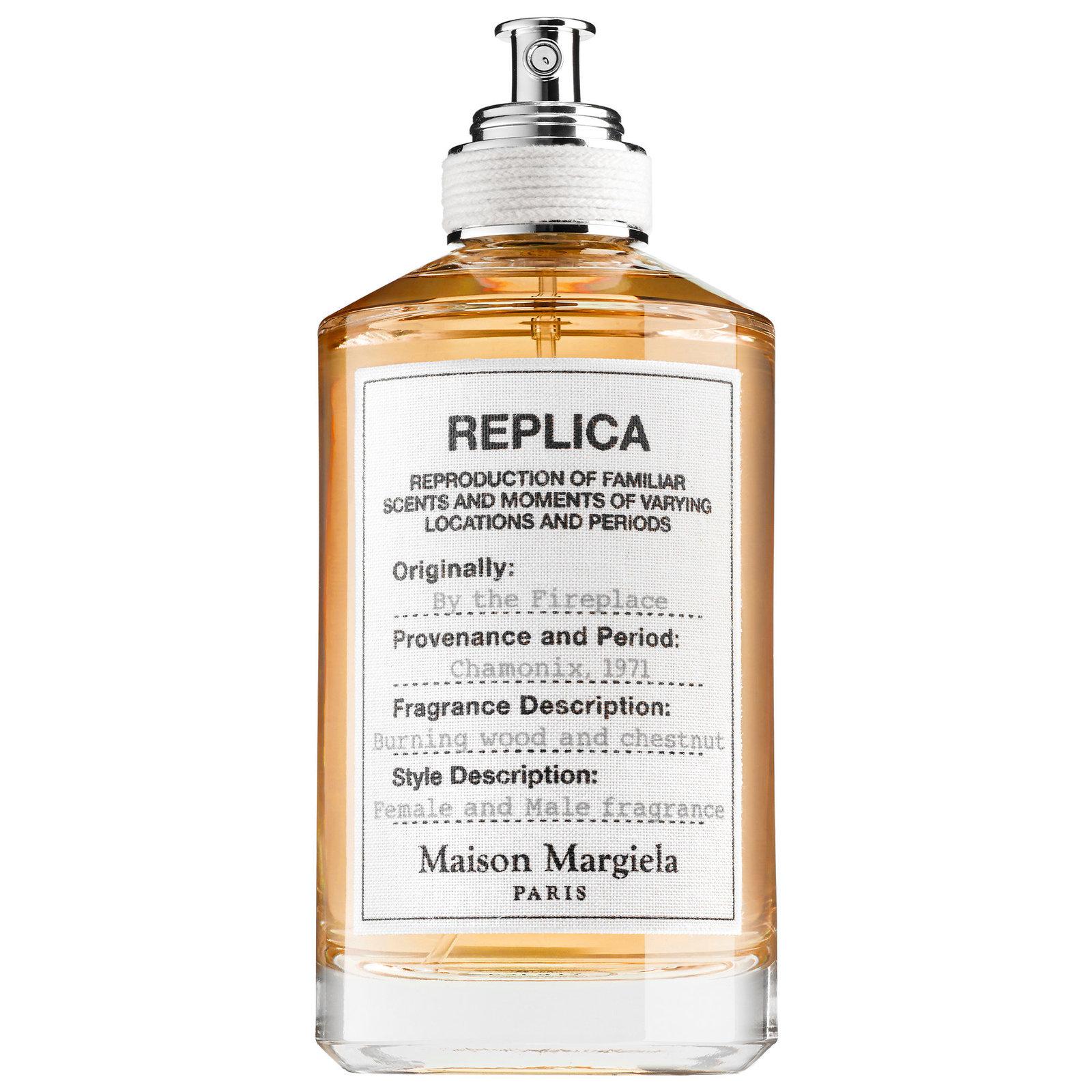 BY THE FIREPLACE by MARTIN MARGIELA 10ml Travel Spray Perfume MMM CHESTNUT