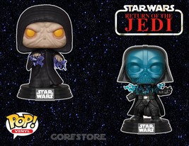 Funko POP! Star Wars Electrocuted Darth Vader & Emperor Palpatine ROTJ S... - $19.98