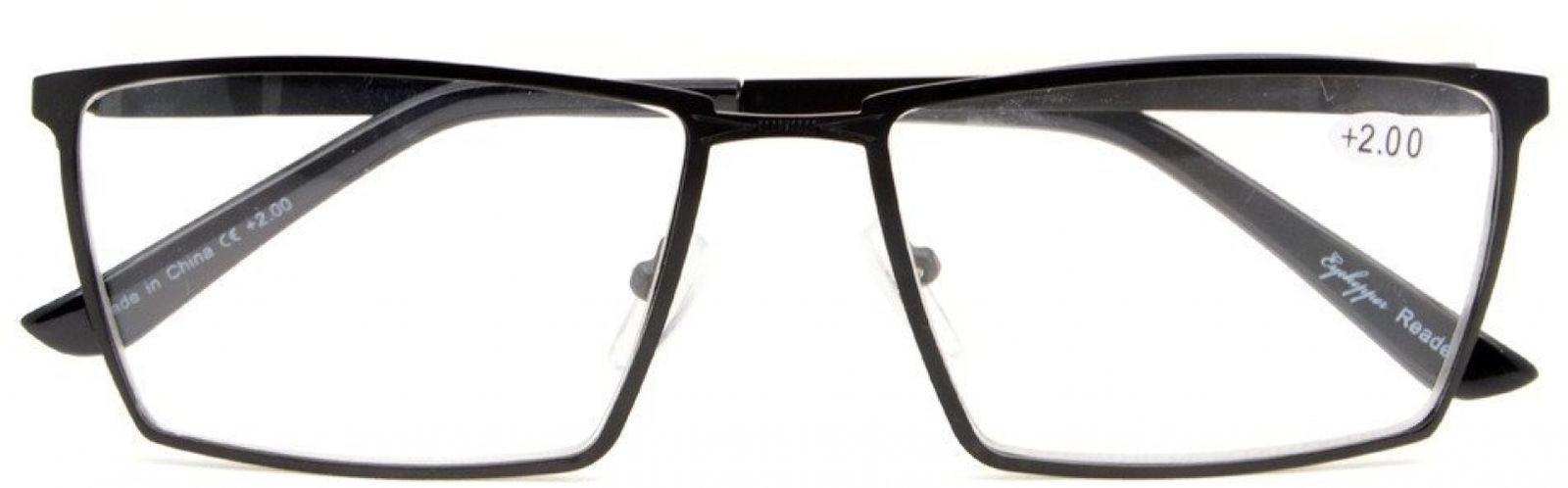 Eyekepper 4-Pack Mens Reading Glasses Spring Hinges Included Tinted Lens +0.75 image 2