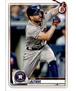 2020 Bowman #88 Jose Altuve NM-MT Astros - $0.99